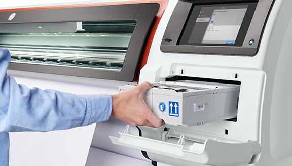 Maintenance automatique HP Stitch - Euromedia