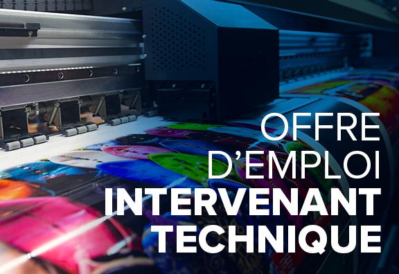 Offre d'emploi Euromedia : intervenant technique