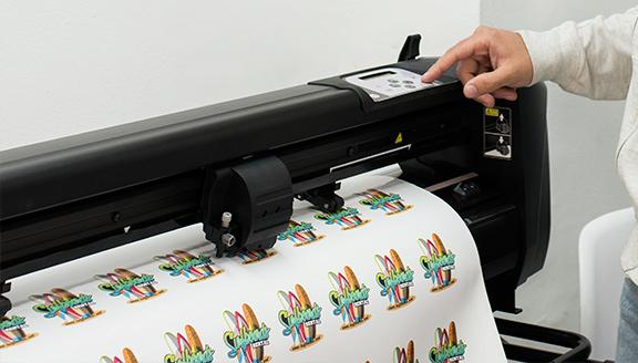 Précision de découpe HP Latex | Euromedia