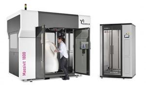 Imprimante 3D grand format Massivit