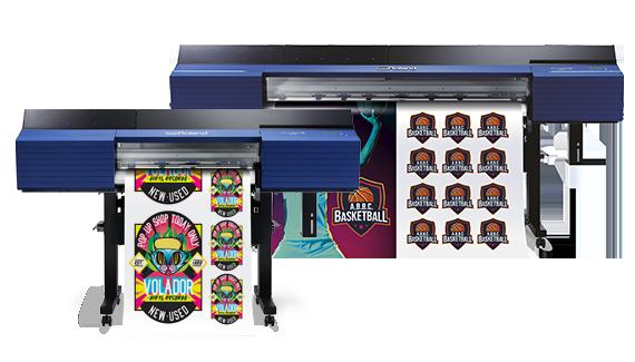 Imprimante et découpe grand format Roland SG2 et VG2