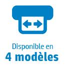 4 modèles disponibles