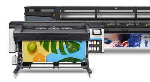 Imprimantes HP Latex aux encres à base d'eau inodores et écocertifiées
