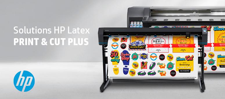 HP Latex Print & Cut Plus