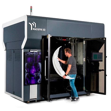 Imprimantes Massivit 3D