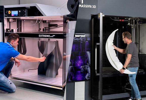 Nouvelles imprimantes 3D grand format
