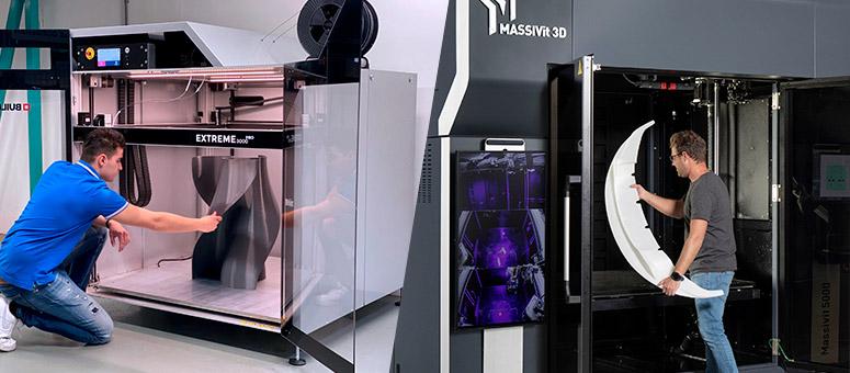Nouvelles imprimantes 3D